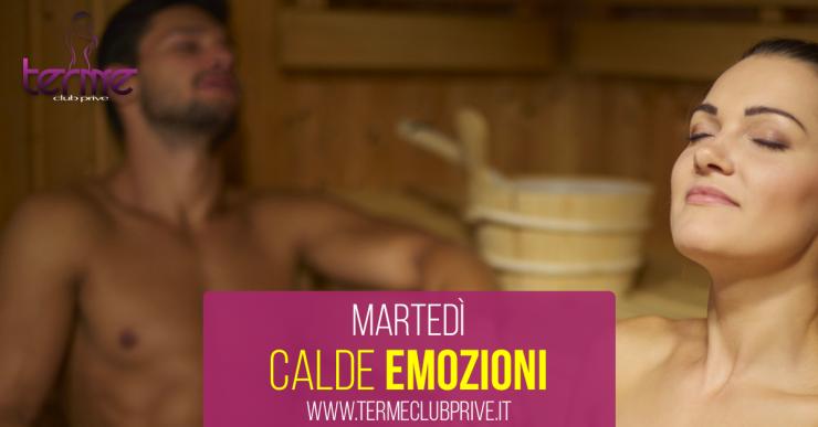 MARTEDÌ CALDE EMOZIONI